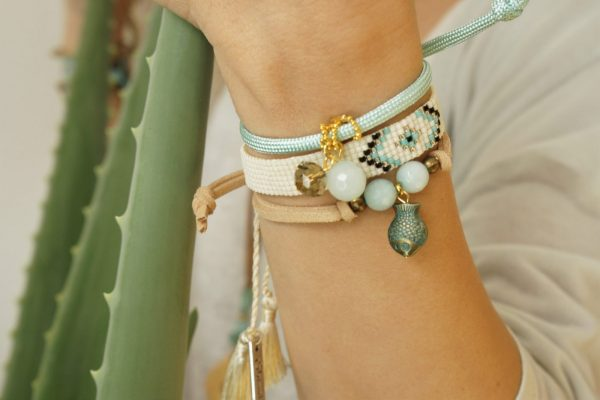 ethnic bracelets summer shiori jewelry and bags