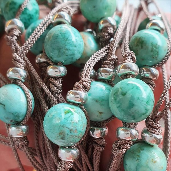 turquoise and sterling silver solidarity bracelet