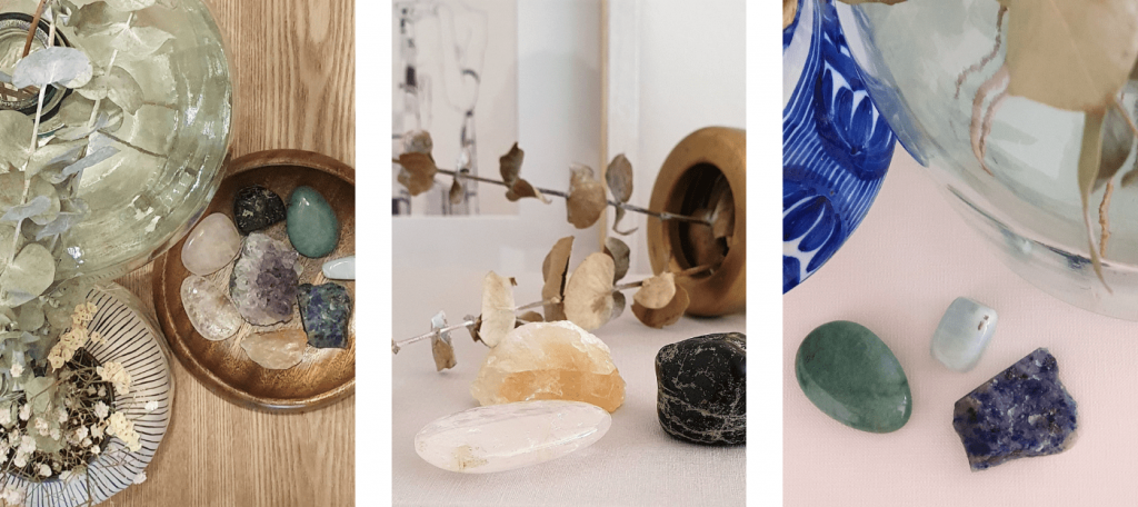 minerals to decorate at home